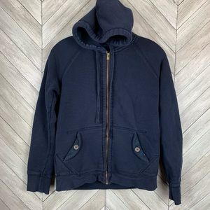 J crew Sherpa lined hoodie small